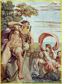 Carracci: Polifemo llamando a Galatea